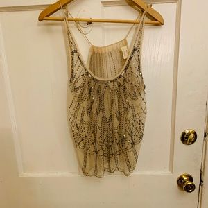 Urban outfitters Pins and needles sequin blouse
